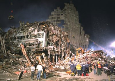 WTC-83 9-17-2001 South west corner of ground zero