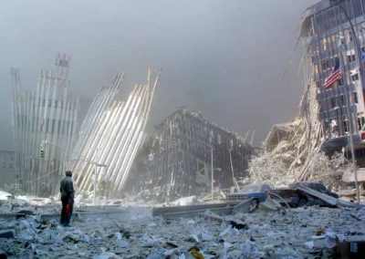 US-ATTACKS-TRADE CENTER RUBBLE